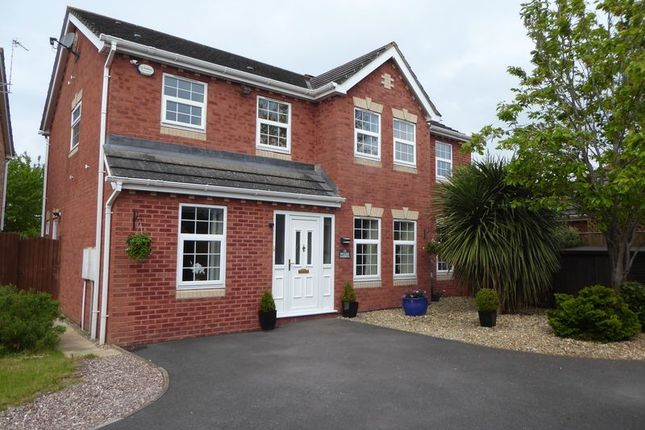 5 bed detached house for sale in Pegasus Gardens, Quedgeley, Gloucester