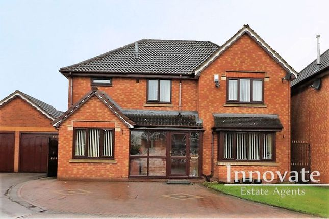 Thumbnail Detached house for sale in Werneth Grove, Bloxwich, Walsall