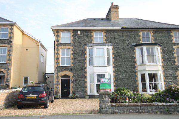 Thumbnail Semi-detached house for sale in Pier Road, Tywyn