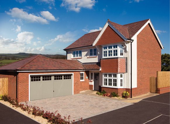Thumbnail Detached house for sale in The Hedgerows, Wigan Road, Leyland, Lancashire