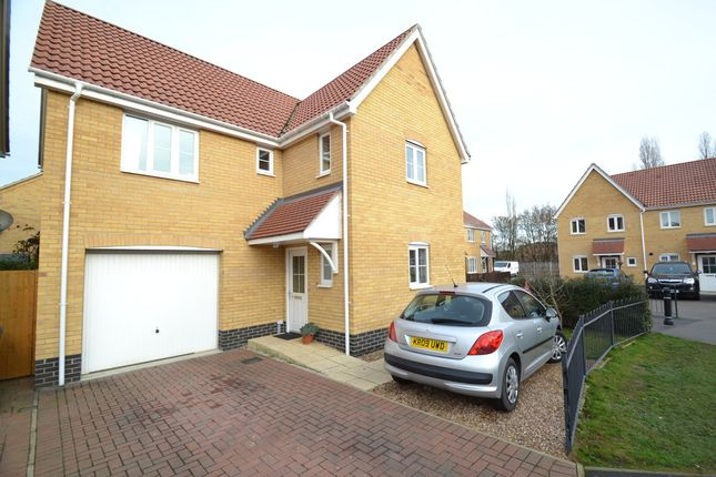 Thumbnail Detached house for sale in Lower Reeve, Great Cornard, Sudbury