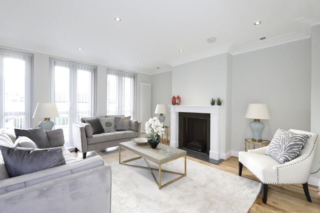 Thumbnail Terraced house to rent in St. Mary Abbots Terrace, London