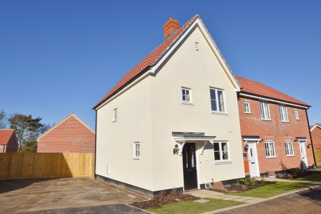 Thumbnail End terrace house to rent in Lutyens Drive, Overstrand, Cromer