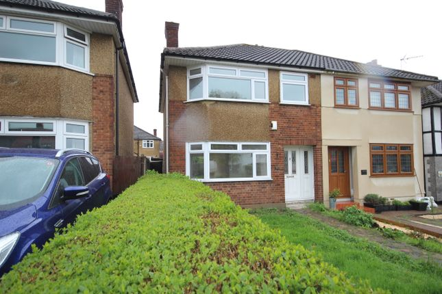 Thumbnail Semi-detached house to rent in Havering Road, Rise Park