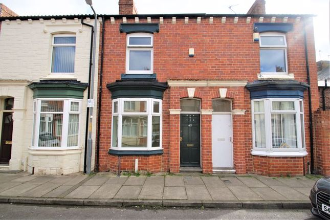 Thumbnail Terraced house for sale in Laurel Street, Middlesbrough