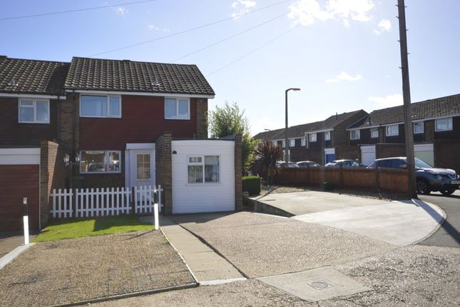 Thumbnail Semi-detached house for sale in Wall Close, Hoo, Rochester