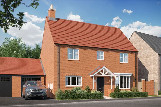 Thumbnail Detached house for sale in Blackthorn Road, Ambrosden, 2Aj