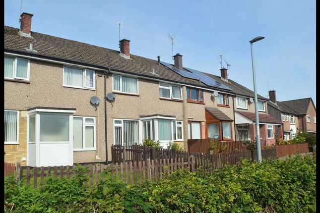 Thumbnail Terraced house for sale in Monnow Walk, Bettws, Newport