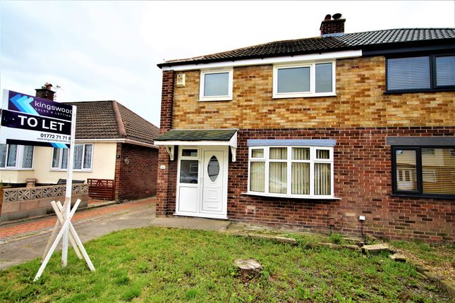 Thumbnail Semi-detached house to rent in Windermere Road, Fulwood, Preston, Lancashire