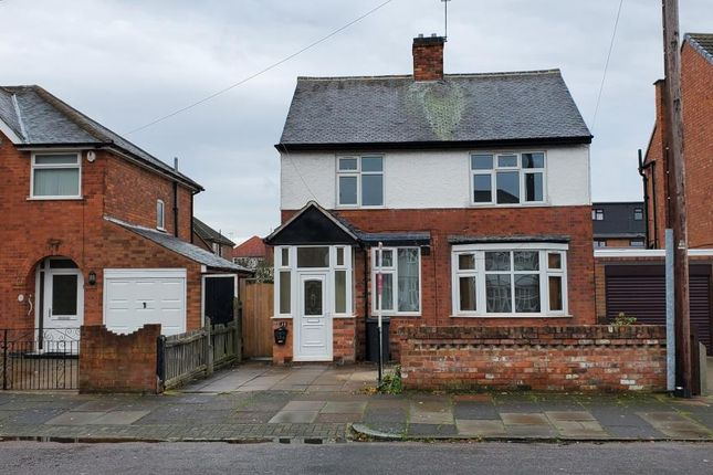 Thumbnail Detached house for sale in Barbara Road, Leicester