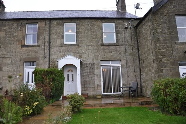 Thumbnail Terraced house for sale in The Croft, Bellingham, Northumberland.