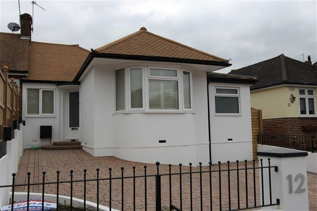 Thumbnail Semi-detached bungalow for sale in Newlands Road, Woodford Green, Essex