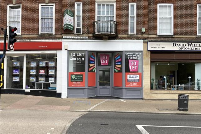 Thumbnail Retail premises to let in 5 Queen Victoria Road, High Wycombe, Buckinghamshire