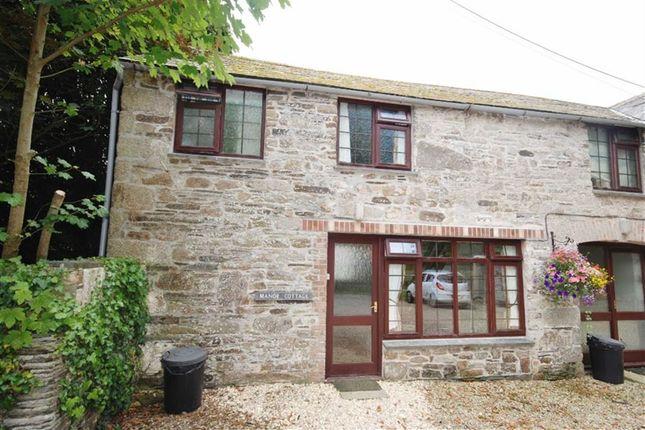 Thumbnail Semi-detached house to rent in Chapel Amble, Wadebridge