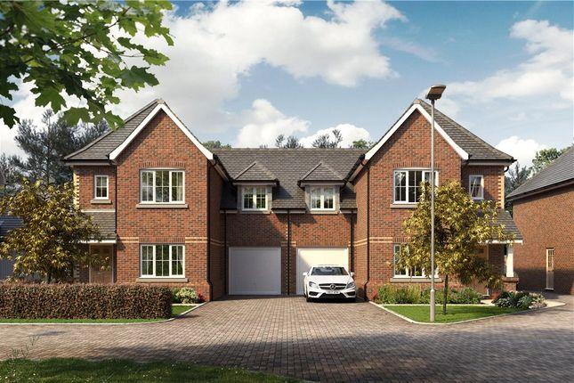 Thumbnail Semi-detached house for sale in Victoria Place, Crowthorne, Berkshire