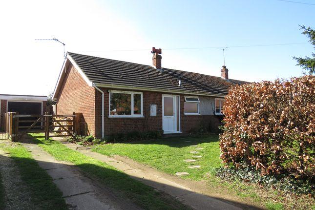 Thumbnail Semi-detached bungalow for sale in Eastgate Street, North Elmham, Dereham