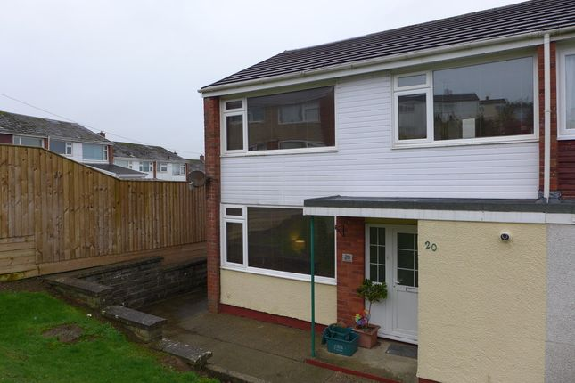 Thumbnail End terrace house to rent in Trafalgar Road, Haverfordwest
