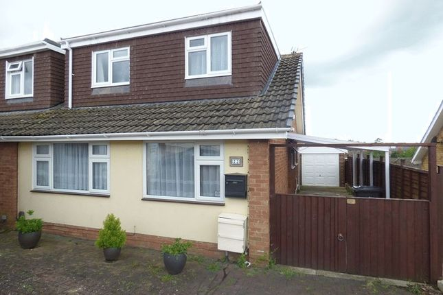 Thumbnail Semi-detached house for sale in Thoresby Avenue, Tuffley, Gloucester