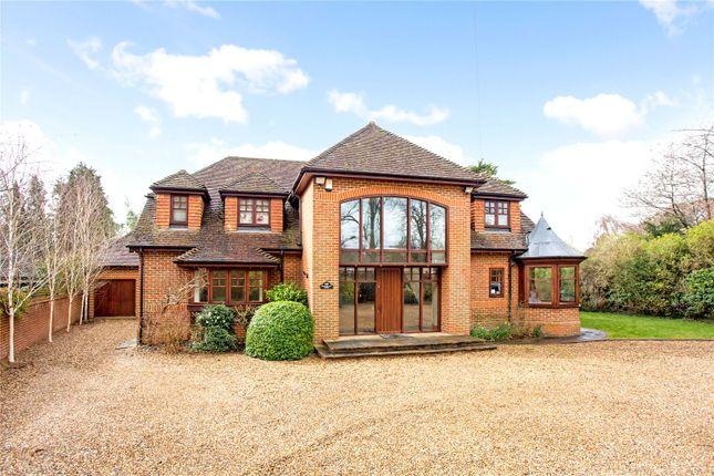 Thumbnail Detached house for sale in Waverley Lane, Farnham, Surrey