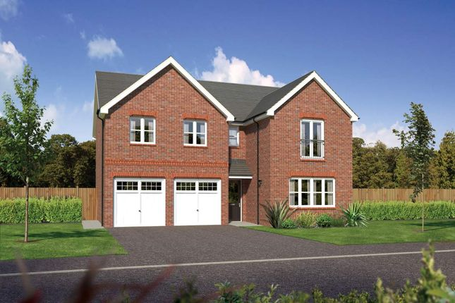 "Thumbnail Detached house for sale in ""Malborough"" at Bolton Road, Adlington, Chorley"