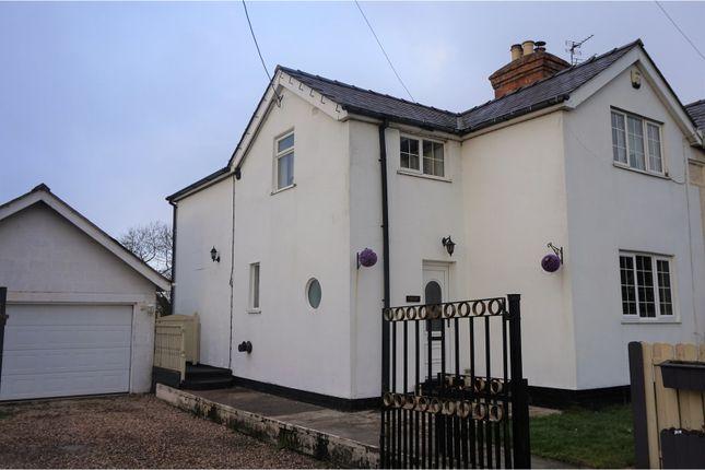 Thumbnail Semi-detached house for sale in Shrewsbury Road, Shrewsbury