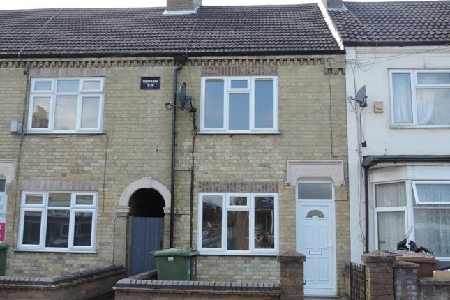 Thumbnail Terraced house to rent in Aldermans Drive, West Town, Peterborough