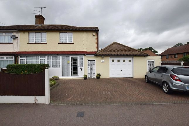 Thumbnail Semi-detached house for sale in Church Road, Harold Wood
