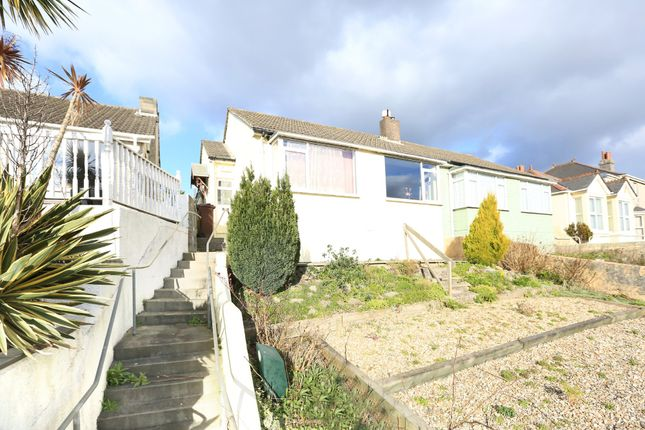 Thumbnail Semi-detached bungalow for sale in Billacombe Road, Plymstock, Plymouth
