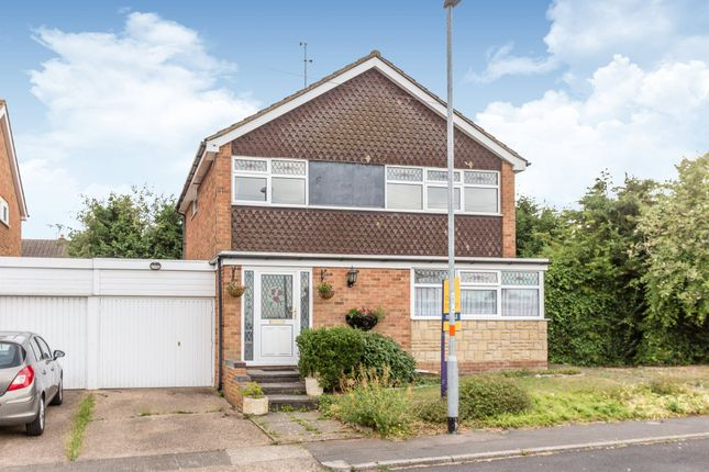 Thumbnail Detached house for sale in Loseby Close, Rushden