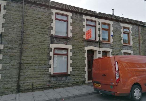 3 bed terraced house for sale in Margaret Street, Tynewydd, Treherbert, Rct. CF42