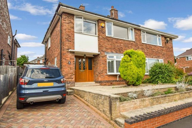 Thumbnail Semi-detached house for sale in Maidavale Crescent, Styvechale, Coventry