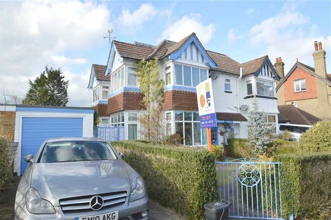 Thumbnail Semi-detached house to rent in Downs Road, Coulsdon, Surrey