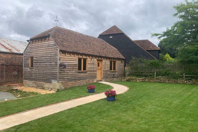 Thumbnail Detached bungalow to rent in Lydens Lane, Hever, Edenbridge
