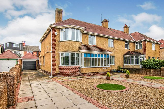 Thumbnail Semi-detached house for sale in Parkway, Meols, Wirral