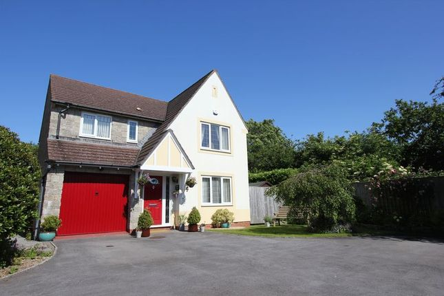 Thumbnail Detached house for sale in Cwrt Syr Dafydd, Llantwit Major