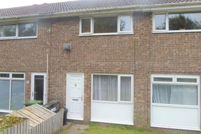 Terraced house for sale in Cae Bracla, Brackla, Bridgend.