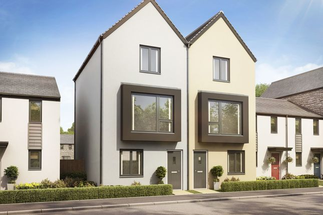 """End terrace house for sale in """"The Greyfriars"""" at Llantrisant Road, Capel Llanilltern, Cardiff"""