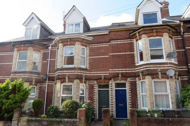 Thumbnail Terraced house to rent in Raleigh Road, St. Leonards, Exeter