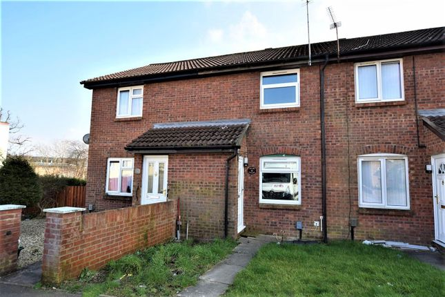 Thumbnail Terraced house for sale in Carew Close, Barry