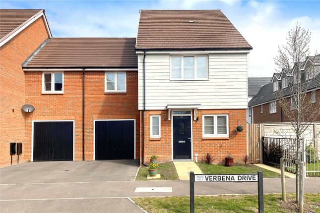 3 bed end terrace house for sale in Verbena Drive, Cresswell Park, Angmering, West Sussex BN16