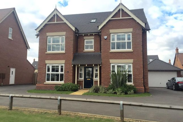Thumbnail Detached house for sale in Summerhill Drive, Nuneaton