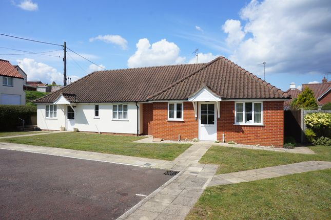 Thumbnail Semi-detached bungalow for sale in Meadow View, Bungay