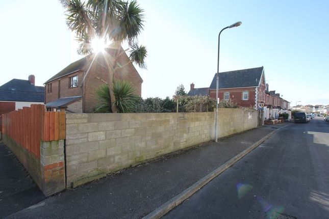 Land for sale in Ivor Street, Barry