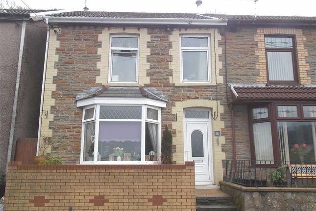 Thumbnail End terrace house for sale in Dan-Y-Coedcae Road, Graig, Pontypridd