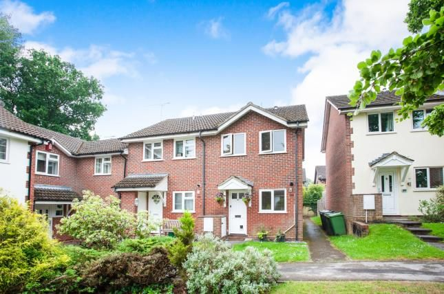 Thumbnail End terrace house for sale in Lightwater, Surrey, United Kingdom