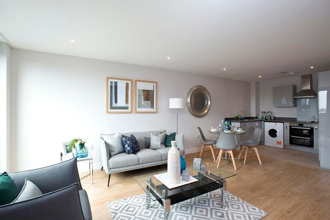 Thumbnail Flat to rent in New Walk Place, Leicester