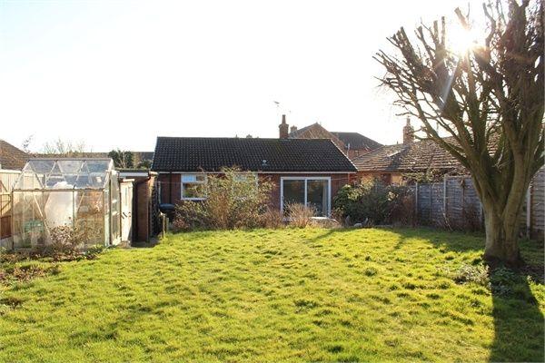 Thumbnail Detached bungalow for sale in Church Drive, Gilmorton, Lutterworth