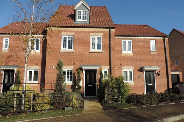 Thumbnail Terraced house to rent in Newmarket Avenue, Bourne, Lincolnshire