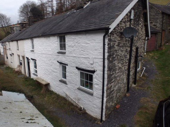 Thumbnail End terrace house for sale in Abercegir, Machynlleth, Powys
