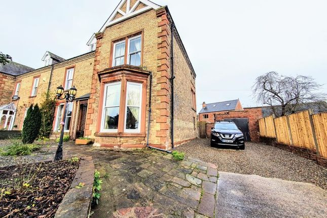 Thumbnail Semi-detached house for sale in Norfolk Road, Carlisle